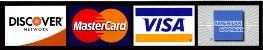 credit card logo sized